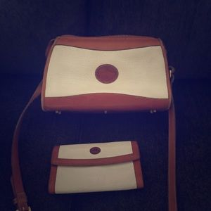 Vintage Dooney and Bourke with wallet